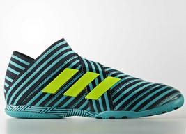 Adidas Hombre Nemeziz Tango 17+360 Agilidad de Salón Botas de Fútbol Azul - $87.51