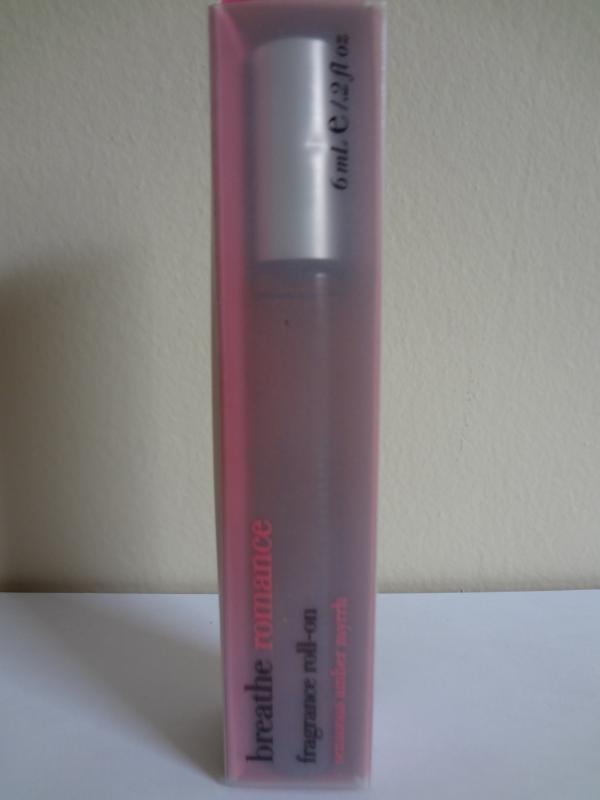 Bath & Body Works Breathe Romance Sensuous Amber Myrrh Fragrance Roll-On 0.2 oz