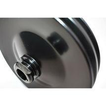 GM Saginaw Power Steering Pump Double-Groove Steel Pulley (Black) image 9
