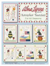 For All Seasons Sampler Teenies cross stitch chart Alma Lynne Originals - $7.00