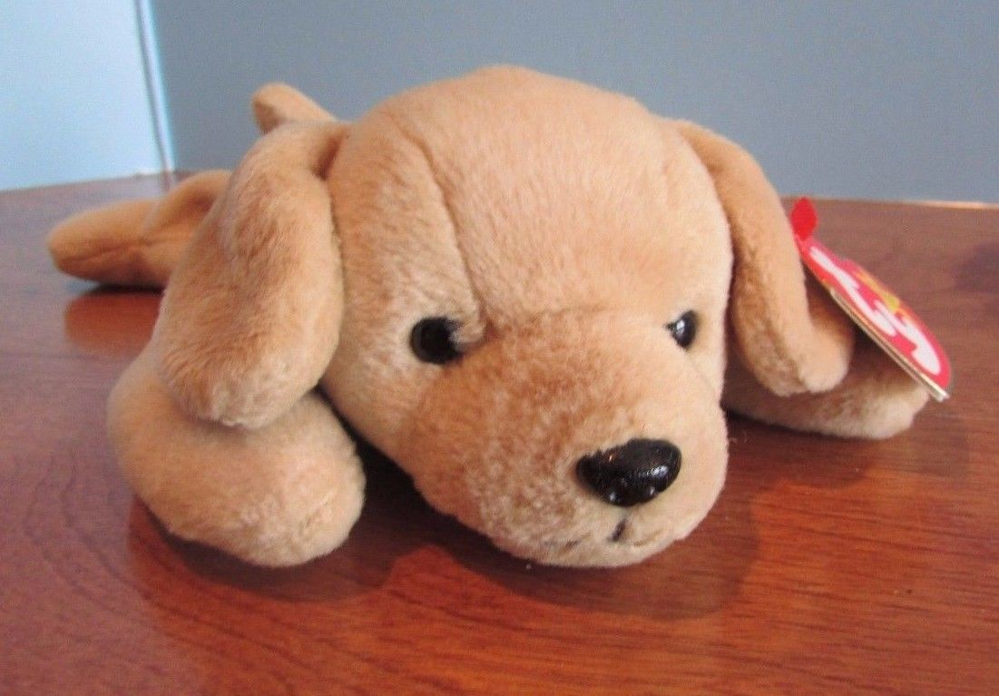 70d1b8bf177 Ty Beanie Babies Baby Plush Brown Dog and 33 similar items. S l1600