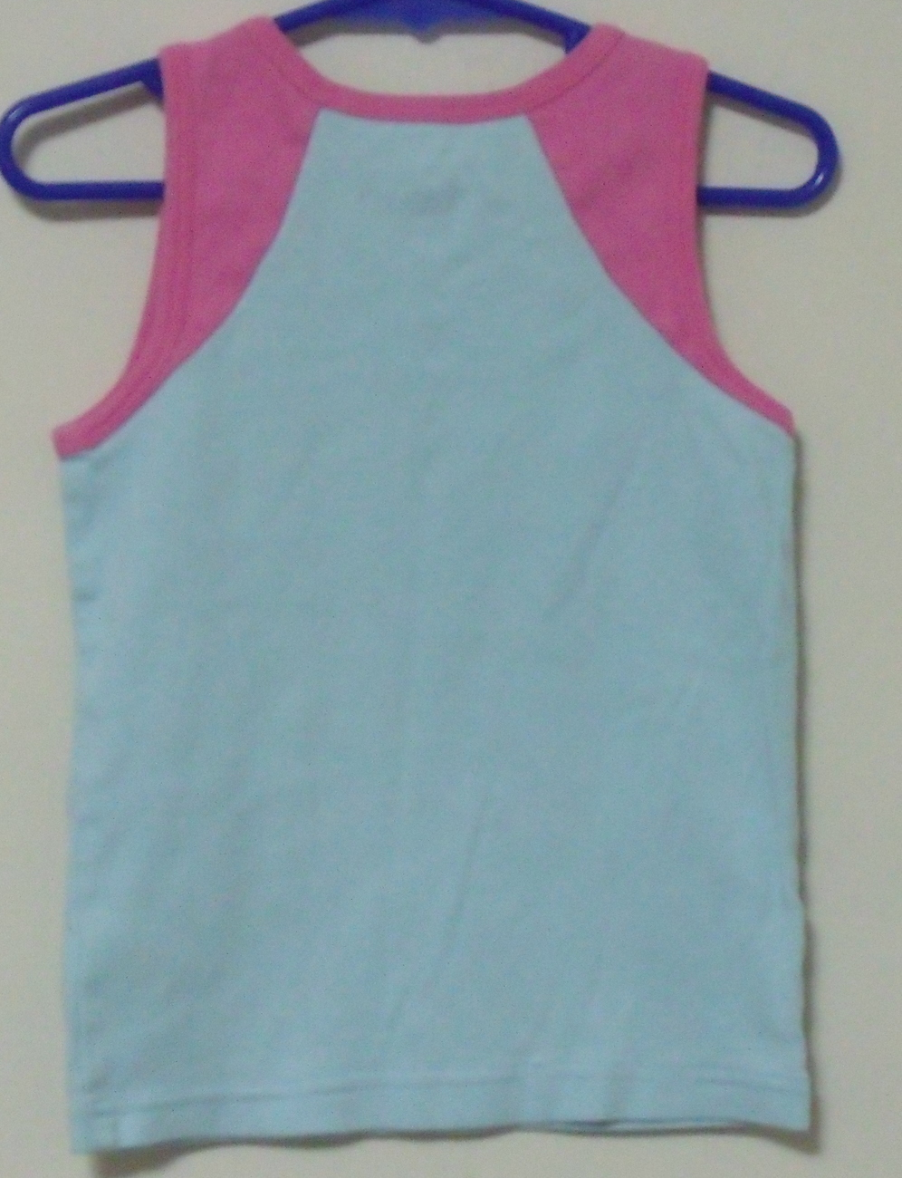 Girls Carters Blue Pink Sleeveless Top Size 5