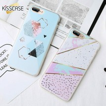 KISSCASE® Case For Huawei P20 Lite P10 P9 Original Design Triangle Marbl... - $4.04+