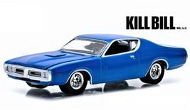 1:64 Greenlight Hollywood Kill Bill Vol I&II 1971 Dodge Charger - $10.00