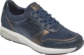 Rockport Trustride Walking LTD Sneaker (Women's Shoes) in Blue Leather -... - $122.81