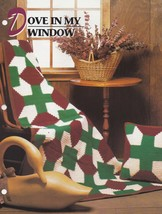 Dove In My Window, Annie's Crochet Quilt & Afghan Pattern Club Leaflet 0... - $2.95
