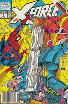 X-Force #4 Newsstand Cover (1991-2002) Marvel Comics - $5.44