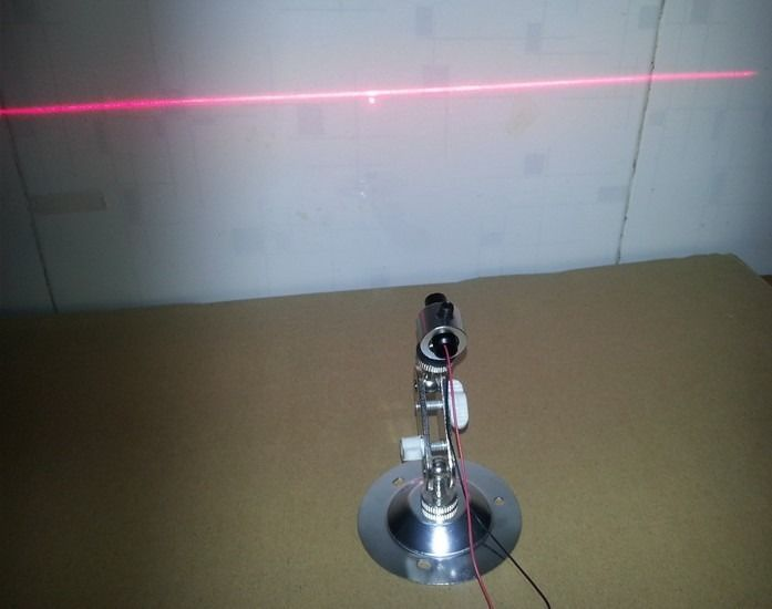 10*23mm 650nm 50mW Line Red Diode Laser Module 88 Degree