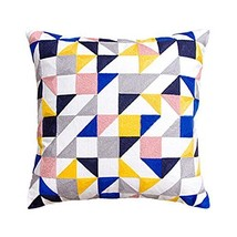 George Jimmy Modern Geometry Pattern Decorative Pillows Throw Pillows for Sofa/C - $41.99