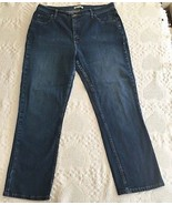 Riders by Lee Women's Relaxed Bootcut Denim Blue Jeans Size 18 M (36 x 2... - $12.95