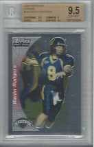 AARON RODGERS 2005 TOPPS DRAFT PICKS & PROSPECTS CHROME #152 BGS 9.5 - $297.00