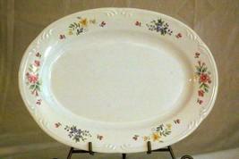 "Pfaltzgraff 2007 Meadow Lane Large Oval Platter 14 1/2"" - $13.85"