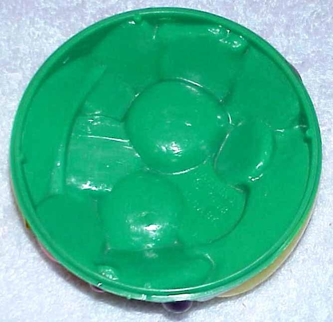 Vintage Salt & Pepper Set - Plastic Fruit Tray