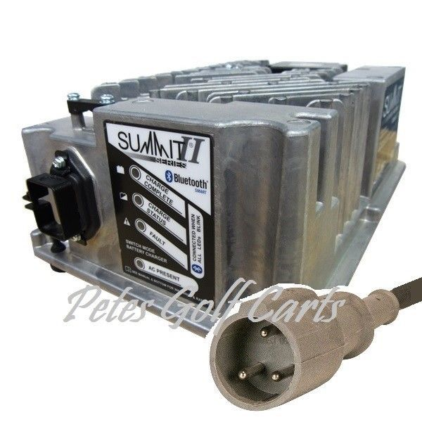 Club Car 48 Volt Golf Cart Battery Charger Lester Summit II - 2014 and Up Carts