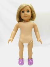 American Girl Pleasant Company Doll Kit Kittredge Nude Blonde Hair Blue Eyes - $54.44