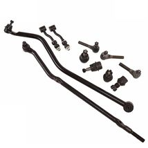 11pc Kit Tie Rod Ends Ball Joints Sway Bar Link Jeep Comanche Cherokee Wagoneer - $132.95