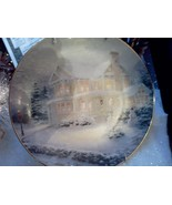 "Thomas Kinkade Collector Plate TWO ""Winter Memo... - $10.00"