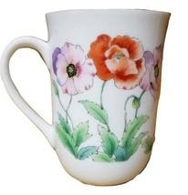 Vintage Otagiri Coffee Mug, Poppies Cup, Japan - $19.99