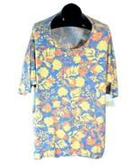LuLaRoe Irma Womens Shirt 3XL, XXL Autumn Leaf Multicolor New with Tags Q - $14.95