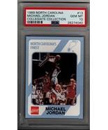 Michael Jordan 1989 North Carolina #13 Collegiate Collection PSA 10 GEM MINT - $117.80