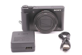 Sony Cyber-shot DSC-HX90V 18.2MP Digital Camera - Black - $399.99