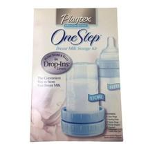 Playtex One Step Breast Milk Storage Kit Drop In -  Vintage Discontinued - $29.02