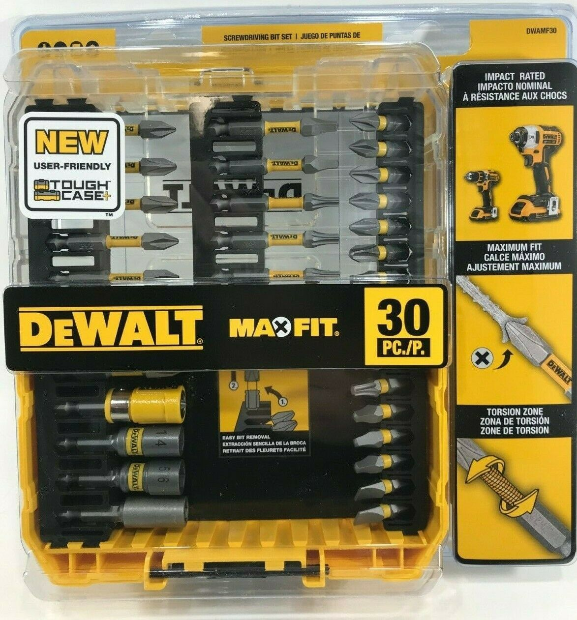 Primary image for DeWalt - DWAMF30 - MAXFIT Steel Driving Bit Set (30-Piece) with Sleeve