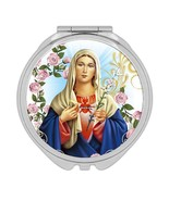 Immaculate Heart of Mary : Gift Compact Mirror Catholic Religious Virgin... - £9.44 GBP