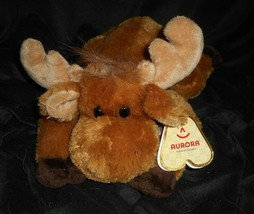 "12"" AURORA WORLD MERRY MERRY MOOSE FLOPPY CHRISTMAS STUFFED PLUSH TOY NE... - $23.38"
