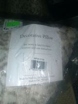 """20"""" x 20"""" Marselle Faux Fur Pillow Leopard - WHOLE PILLOW - NEW WITH TAGS image 7"""