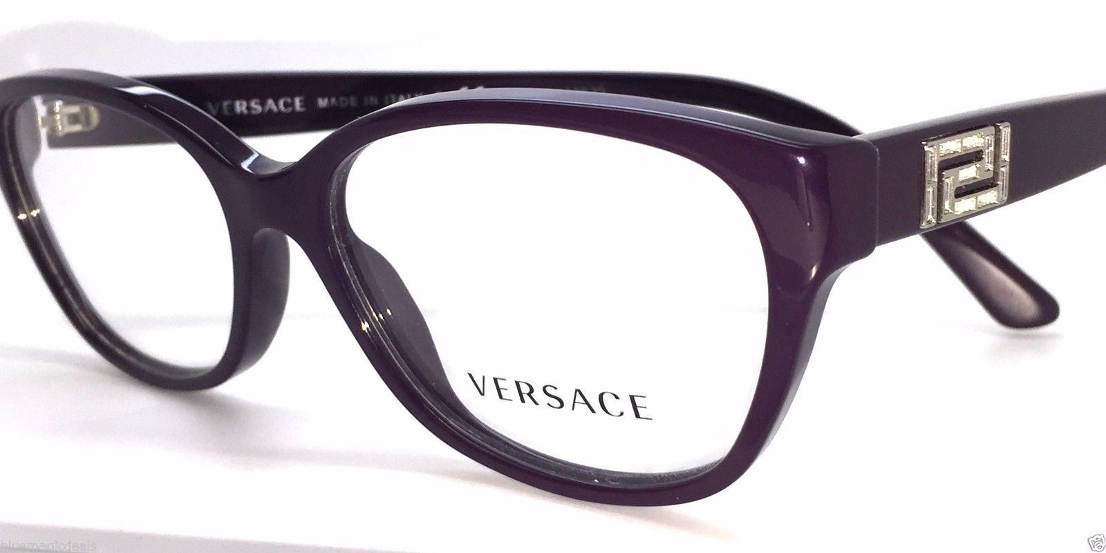 13a47f1000 Versace Eggplant w  Stones Mod Ve 3189-B and 50 similar items