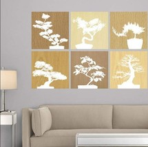 Wall Graphic of Bonsai Tree Wall Art Decal by Martha Stewart Peel and Stick - $15.79