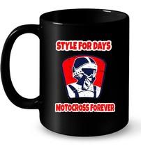 Style For Days Motocross Forever Dirt Bike Gift Coffee Mug - $13.99+