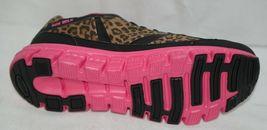 Crazy Train RUNWILD14 Black Pink Cheetah Sneakers Size 11 image 8