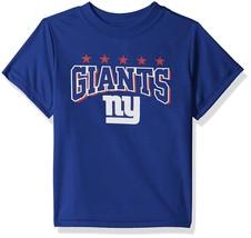 NFL New York Giants T-Shirt Logo on Blue Short Sleeve Size 18M Youth Gerber - $17.95