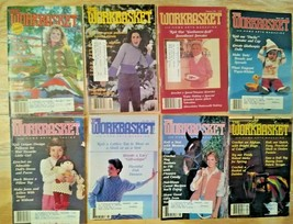 The Workbasket Magazine- 1985 - Lot of 8 Total! Vintage!  FAST FREE SHIP! - $12.95