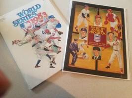 Baseball programs vintage sports memorabilia - $29.70