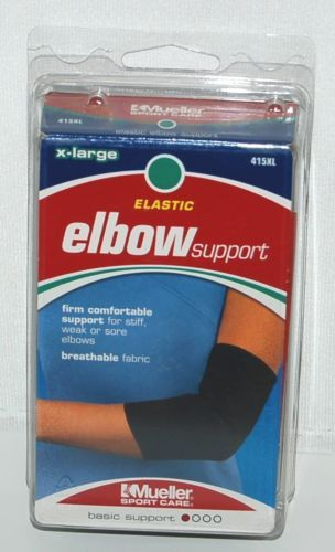 Mueller 415XL Elastic Elbow Support Size Extra large Color Black