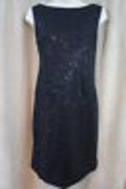 Muse Dress Sz 4 Black Embellished All Over Sleeveless Evening Cocktail D... - $79.17