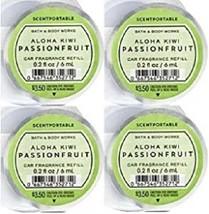 Bath & Body Works Aloha Kiwi Passionfruit Scentportable Car Fragrance Refill x4 - $18.95