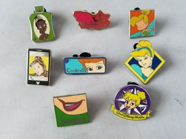 Disney Trading Pins Official Princesses & Tinkerbell Theme Lot of 8 - $22.08