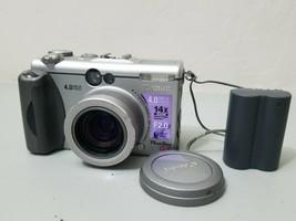 Canon PowerShot G3 4.0MP Digital Camera - Silver *GOOD/TESTED* - $24.74