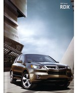 2007 Acura RDX sales brochure catalog US 07 Turbo SH-AWD Honda - $9.00