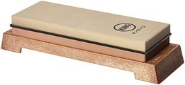 KING KW65 1000/6000 Grit Combination Whetstone with Plastic Base - $31.75
