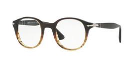 New Persol RX Eyeglasses Frames PO3144V 1012 49-22-145 Grey Gradient Green - $79.20