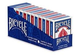 Bicycle Standard Playing Cards 12 Pack - $32.46