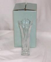 PartyLite Signature Crystal Bud Vase 24% Lead Crystal P7056 - $12.82
