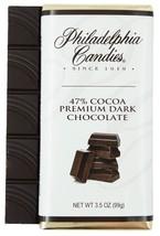 Philadelphia Candies 47% Cocoa Semisweet Dark Chocolate Bar, 3.5 Ounce G... - $5.89+