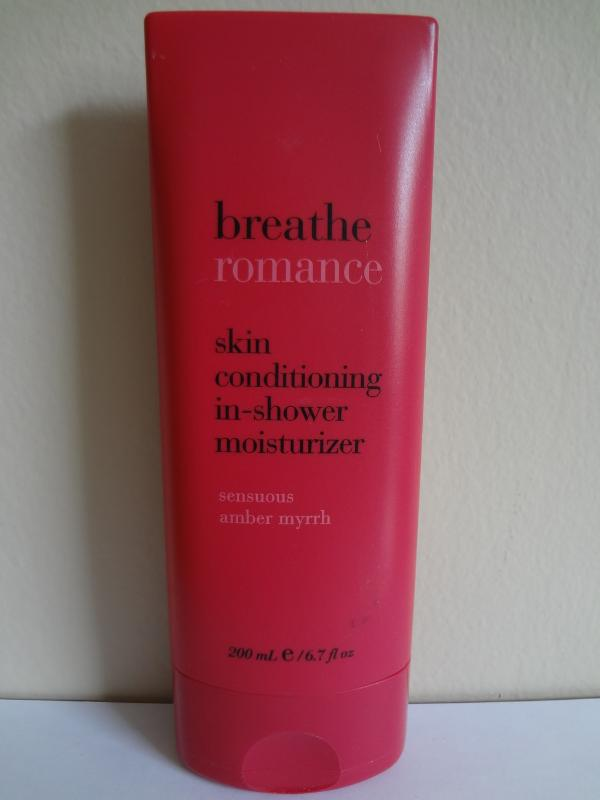Breathe Romance Sensuous Amber Myrrh Skin Conditioning In-Shower 6.7 oz / 200 ml
