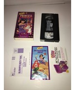 Jasmines Enchanted Tales True Hearts VHS, 1996, Princess Collection With... - $19.99
